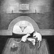 Mouse Hole Art Print