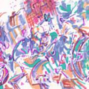Movement In B Flat Art Print