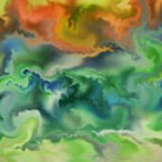 Movement Of The Natural World Art Print
