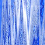 Moveonart Blue Dream Frequency Art Print