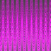 Moveonart Mysterious Violet Curtain Art Print
