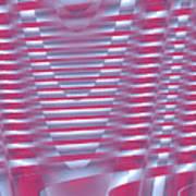 Moveonart New Future Sound Waves 1 Art Print