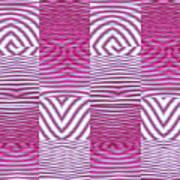 Moveonart New Future Texture 1 Art Print