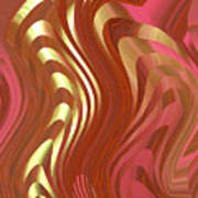 Moveonart Spiritual Transformation 1 Art Print