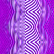 Moveonart Texture The Future 1 Art Print