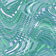 Moveonart Traveling Green 1 Art Print