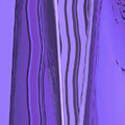 Moveonart Violet Moment 1 Art Print