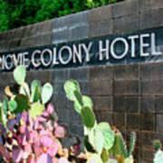 Movie Colony Hotel Palm Springs Art Print