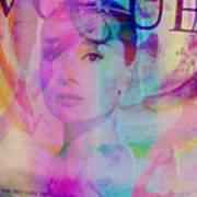 Movie Icons - Audrey Hepburn Vi Art Print