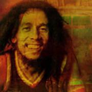 Movie Icons - Bob Marley I Art Print