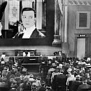 Movie Theater, 1920s Art Print
