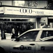 Movie Theatre Paris In New York City Art Print by Sabine Jacobs