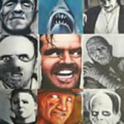 Movie Villians Art Print