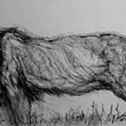 Moving Lion 1 Art Print
