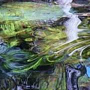 Moving Water Art Print