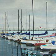 Mozells Boats Print by Howard Stroman