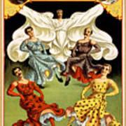 Mr. And Mrs. Herbert L. Flint  Art Print