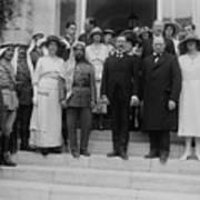 Mr. And Mrs. Winston Churchill Print by Everett