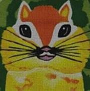 Mr Chipmunk Art Print