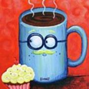 Mr. Coffee Art Print