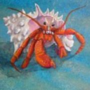 Mr. Crab Art Print