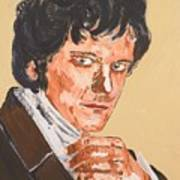 Mr. Darcy Art Print