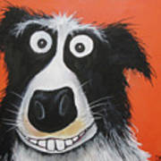 Mr Dog Art Print