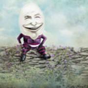 Mr. Egg Head Art Print