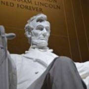 Mr. Lincoln Art Print