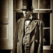 Mr Lincoln Art Print