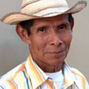 Mr. Panama Art Print