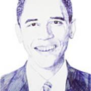 Mr. President Art Print by Benjamin McDaniel