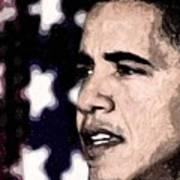 Mr. President Art Print by LeeAnn Alexander