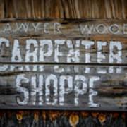 Mr. Sawyer Wood Art Print