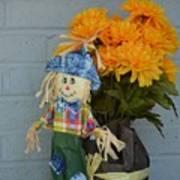 Mr Scarecrow Art Print