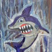 Mr. Shark Art Print