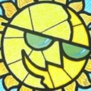 Mr Sunny Day Art Print