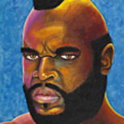 Mr. T Got Robbed Fool Art Print