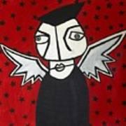 Mr.creepy Print by Thomas Valentine