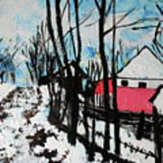 Mrkovici Village 201830 Art Print