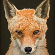 Mrs. Foxy Art Print