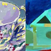 Mrs Patterson S Tea Cup 6246 Art Print
