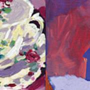 Mrs Patterson S Tea Cup 6254 Art Print