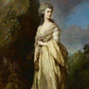 Mrs Peter William Baker Art Print