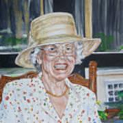 Mrs Spencer Art Print