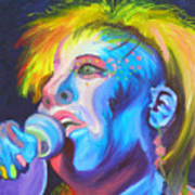 Mrs Ziggy Stardust Art Print