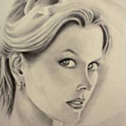 Ms. Kidman Art Print