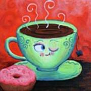 Ms Tea Art Print