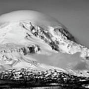 Mt Adams Art Print