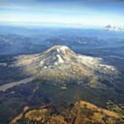 Mt. Adams In Washington State Art Print